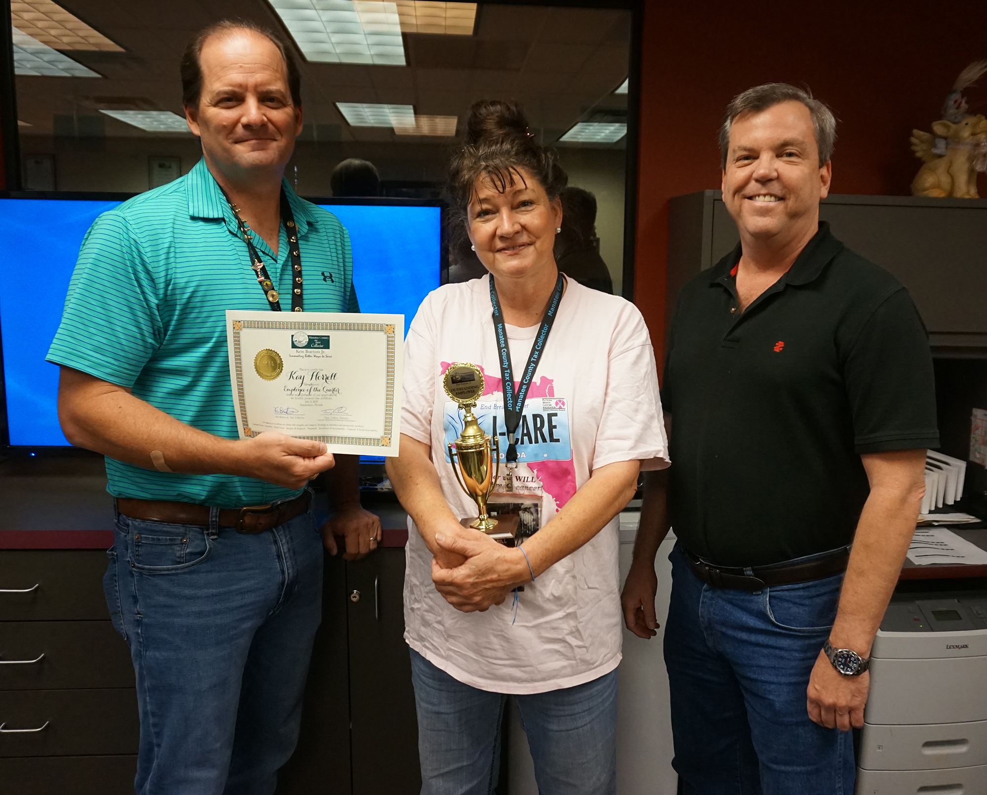Employee of the Third Quarter 2017, Kay Horrell