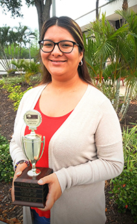 Employee of the First Quarter 2020, Nancy Romero
